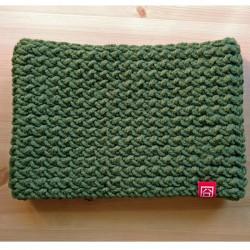 Green scarf