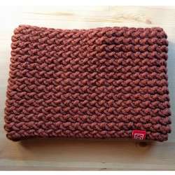 Caramel brown scarf