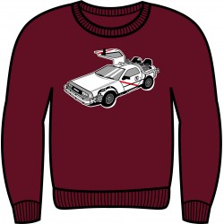 Sudadera Delorean Madrid...
