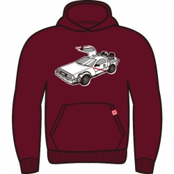 Hoodie delorean back to...
