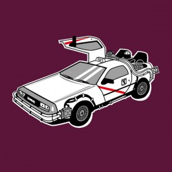 Camiseta Delorean Madrid...