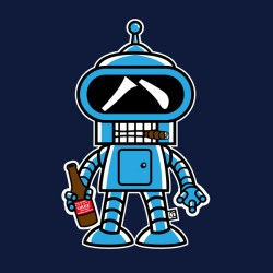 Camiseta Bender
